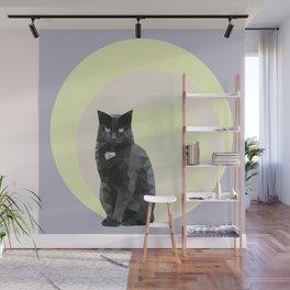 """Resting bitch face"" cat Wall Mural"