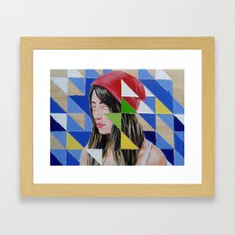 Vacant Framed Art Print