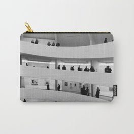 People at Guggenheim Museum Carry-All Pouch
