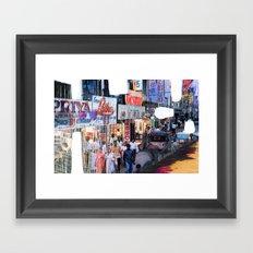 whiteout Framed Art Print