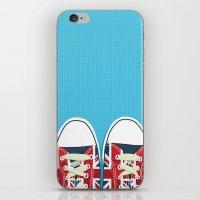 british iPhone & iPod Skins featuring Casual British by Matt Andrews