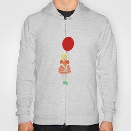 En röd ballong Hoody