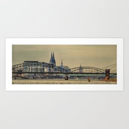 Cologne City Germany Art Print