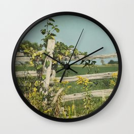 Blissful Country Wall Clock