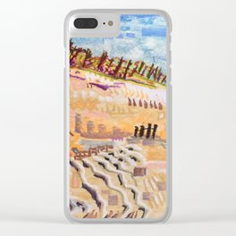 Beach Bums Welcome Clear iPhone Case