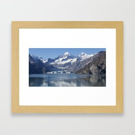 John Hopkins Glacier Framed Art Print