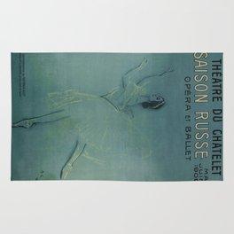 Vintage poster - Saison Russe Rug