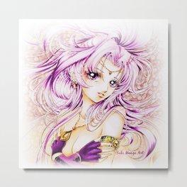 Bishoujo Senshi Kira Metal Print