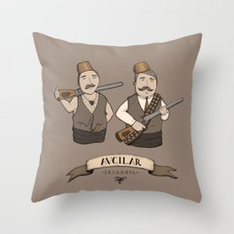 Avcilar, Istanbul Throw Pillow