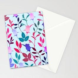 Flower Pattern III Stationery Cards