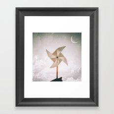 Pinwheel Dream Framed Art Print
