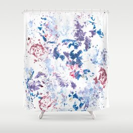 Botanical Impressions: BOUQUET 1 Shower Curtain