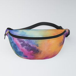 Galaxy lights, colours of Sky Fanny Pack