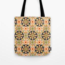 Groovy Carousel Pattern Tote Bag