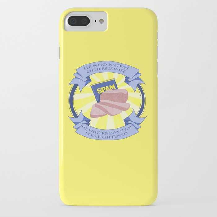 The Spam of Enlightenment iPhone Case