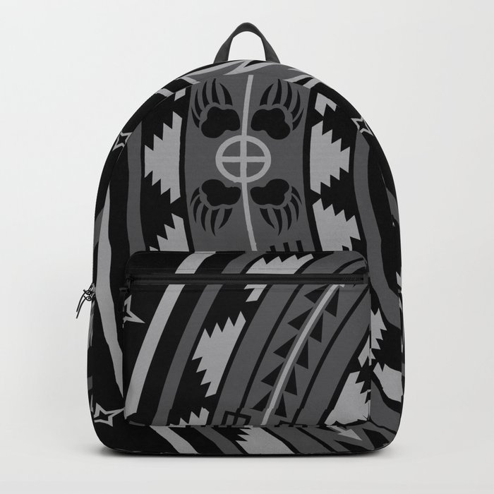 Bear Spirit (Gray) Backpack
