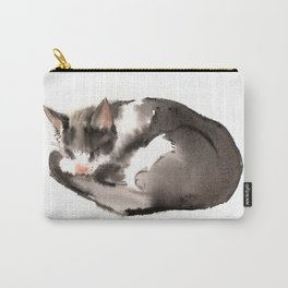 Cat, Sleeping Beauty Carry-All Pouch