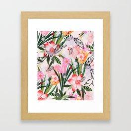 karel Framed Art Print