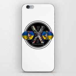 1975 Generation X Ukrainian Skateboard iPhone Skin