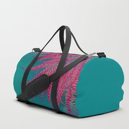 #Agave #psychedelic colors pop-art Sci Fi #Jungle Duffle Bag