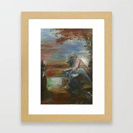 Centaur Rescue Framed Art Print