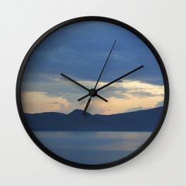 Lake 2 Wall Clock