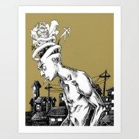 Flashback Art Print