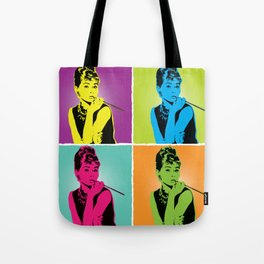 Miss Audrey Tote Bag