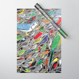Toucans, parrots and tropical birds of Costa Rica Wrapping Paper