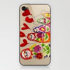 From Russia with Love Russian Dolls iPhone & iPod Skin