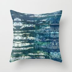 Patterned Crystals Throw Pillow