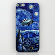 Harry And Ron on The Flying Car iPhone Skin