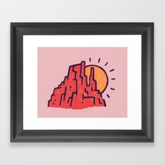 Utah Framed Art Print