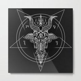 Leviathan Pentagram Metal Print