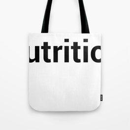 nutrition Tote Bag