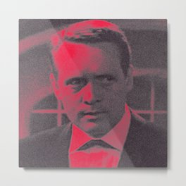Man in red Metal Print