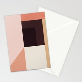 Abstraction_Colorblocks_001 Stationery Cards