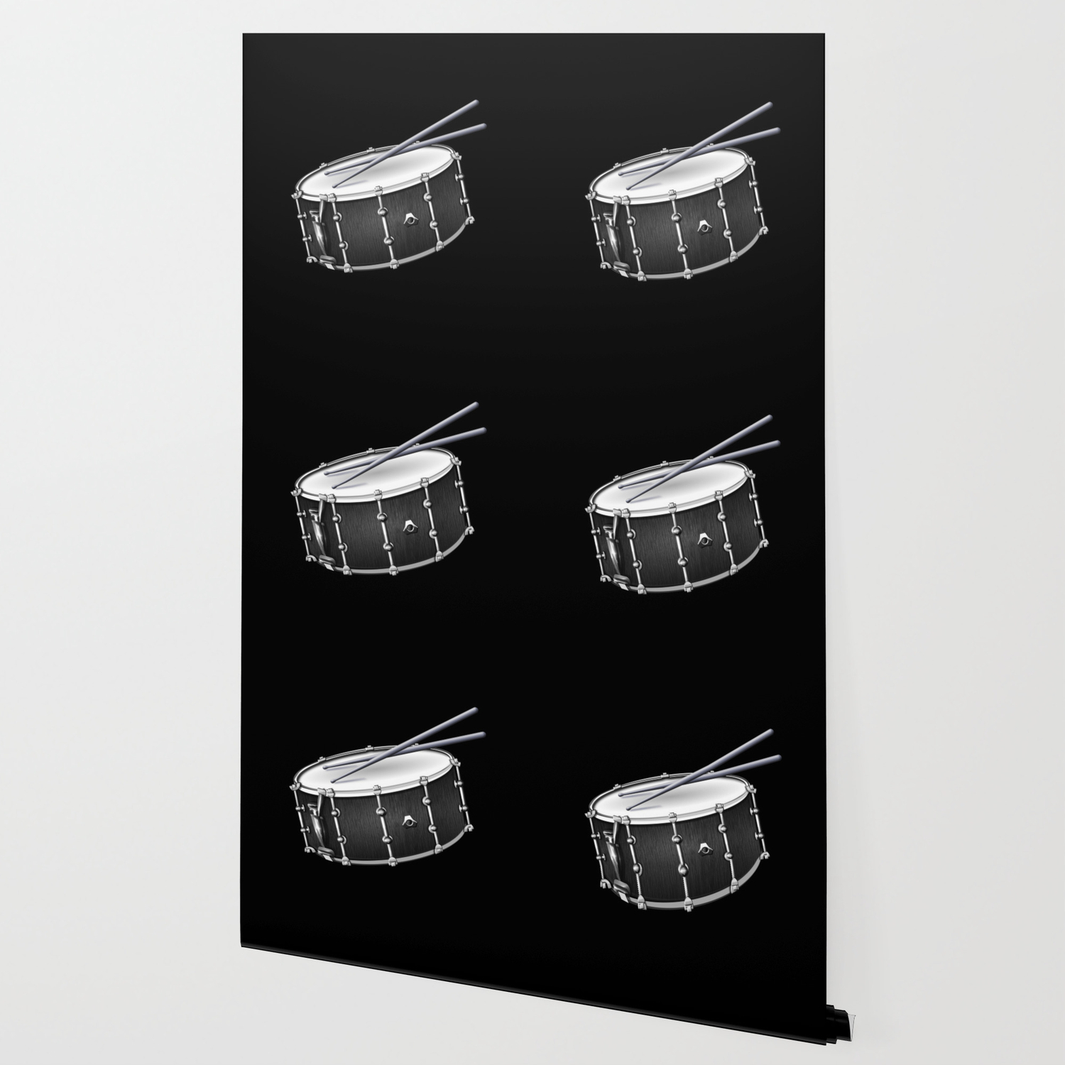 Snare Drum And Sticks Wallpaper