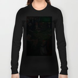 At the Roulette Table in Monte Carlo by Edvard Munch Long Sleeve T-shirt