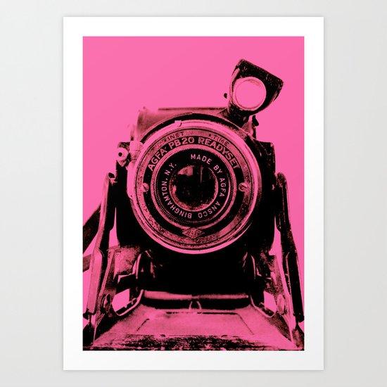 READYSET (PINK) Art Print