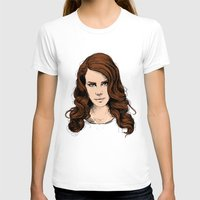 lana T-shirts featuring LANA. by paintparamore