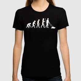 Mowing The Lawn Evolution T-shirt