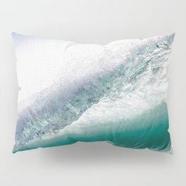 Blue Metal Pillow Sham