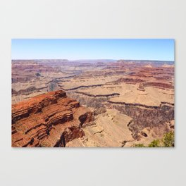 Awesome Grand Canyon View Canvas Print