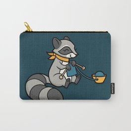 Knitty Raccoon Carry-All Pouch
