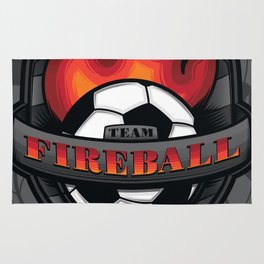 Team Fireball Rug
