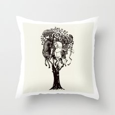 ♥ The Holly Tree ♥ Throw Pillow