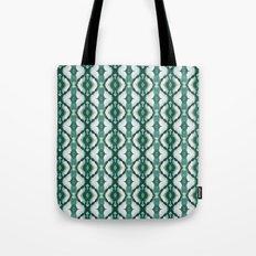 Watercolor Green Tile 1 Tote Bag