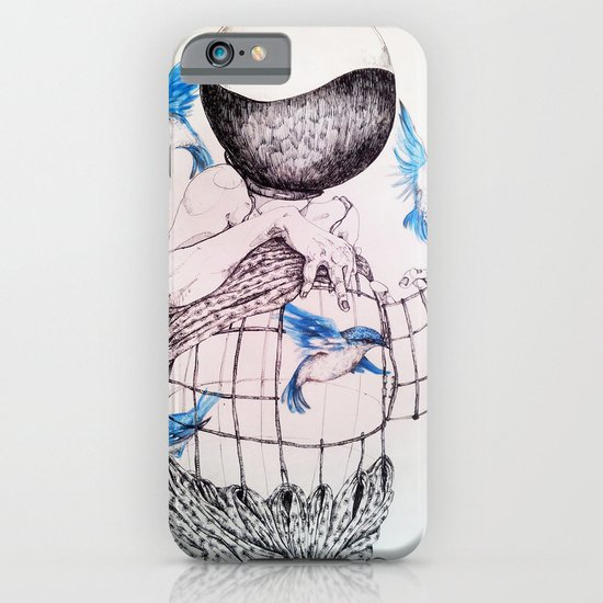 Human flight iPhone & iPod Case