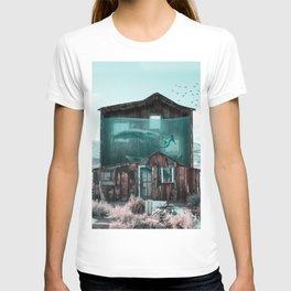AquaHouse - Julien Tabet - Photoshop Artwork T-shirt